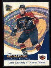 2002-03 McDonald's Pacific Clear Advantage 2 Ilya Kovalchuk