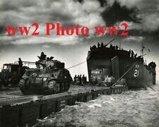 US ww2 Photo Navy LST Normandie Dday Utah Omaha para casque veste para All GI