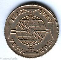 Brasil 960 Reis sobre 8 reales español Brasil Juan Principe regente 1816 Bahia