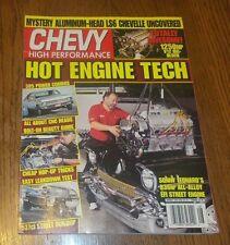 Chevy High Performance Magazine  August 1995 LS6 Chevelle, Sonny Leonard EFI