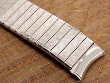 NOS Vintage Kreisler White Gold Filled Expansion Watch Band 11/16 Inch 17.5mm