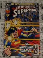 Adventures of Superman (1987) DC - #513, DC Universe Logo UPC Variant CVR, VG+