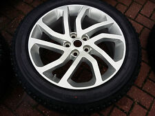 "20"" LAND ROVER DISCOVERY 4 ALLOY WHEEL & TYRE 511 255/50/20 PIRELLI"