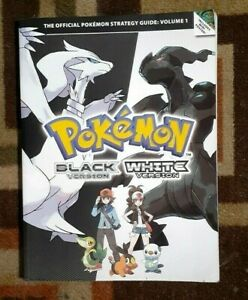 Pokemon Black & White Versions Official Strategy Game Guide With Mini Poster NEW
