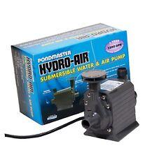 Pondmaster 02795 Hydro-Air 1200 gph Water Pump w/ Aerator-up to 1000 gal pond