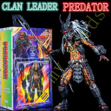 New PREDATOR Deluxe Clan Leader Neca action figure Ultimate BOX Gift Toy Model