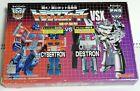 JAPAN EXCLUSIVE G1 VSX WST Optimus Prime Vs Megatron Transformers Dengeki Hobby