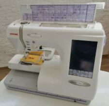 Janome Stickmaschine 10001 mit Sticksoftware