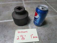 "2 13/16"" Williams Usa 7-690 Impact Socket 1"" Drive Fast Shipping!"