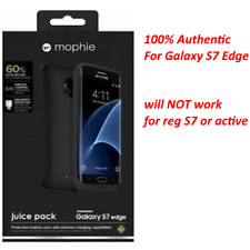mophie juice pack Battery Case for Samsung Galaxy S7 Edge (3,300mAh) - Black