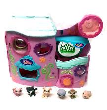 THE LITTLEST PET SHOP Toys Large Playset & Animal figures set lot, cats & dogs