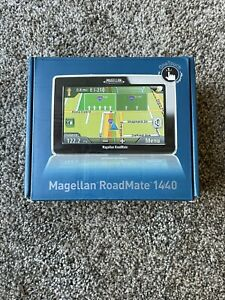 Magellan RoadMate 1440 GPS Car Navigation System, Complete, Tested w/Box