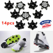 14pcs Cleat Champ Studs System Replacement Fast Golf Shoe Spikes Twist Screw