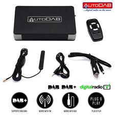 Añadir DAB DAB + Interfaz de sintonizador de radio a cualquier Taxi FM Estéreo en coche van AutoDAB FM