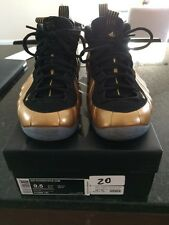 huge discount b922e 17601 Foamposite Gold 9.5