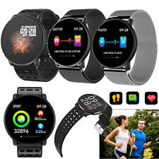 Sports Bluetooth Smart Watch Round Screen For Samsung S10 S9 S8 Huawei P30 P20