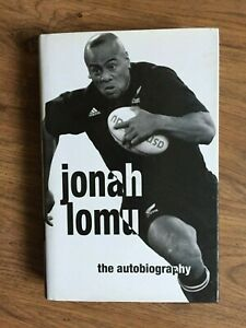 Jonah Lumu Autobiography - New Zealand All Blacks 1st Edition 1st printing VGC