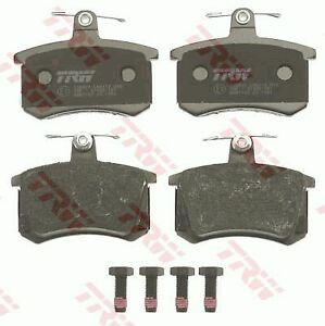TRW Brake Pad Set for AUDI 90 B3 Sedan (893, 894, 8A2) 2.3 E 20V quattro
