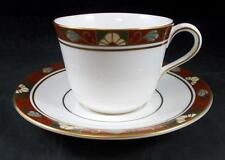 Royal Crown Derby CLOISONNE Cup & Saucer Bone China A1317 GREAT CONDITION