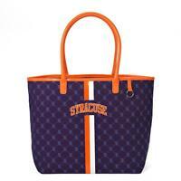 Syracuse Orange University Canvas Cuse Tote Handbag Purse NCAA College Football