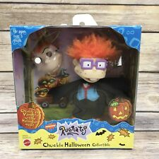 Mattel 1999 Rugrats Chuckie Halloween Collectible Vampire Costume Figure