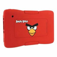 Meroncourt Kurio 7 Angry Birds Protective Skin Bumper - Red