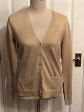 BNWT Ralph Lauren 'Sumner' Tan Cotton Cardigan. Size M