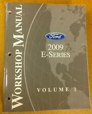 2 Shop Manuals for the 2009 FORD E-Series