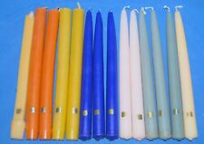 """14 PartyLite Assorted 10"""" Taper and Dinner Candles Assorted Lot"""