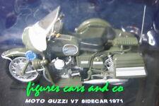 1/24 MOTO  GUZZI V7 SIDECAR POLIZIA SIDE CAR POLICE  STARLINE