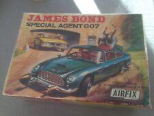 Vintage rare AIRFIX Aston Martin James Bond 007 Empty / Vide