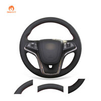 DIY Black PU Leather Steering Wheel Cover for Chevrolet Malibu 2011-2014 Volt