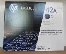 Original HP q5942a tóner 42a Black para LaserJet 4240 4350 4250 envase de cartón C
