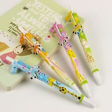 Cartoon Giraffe Ballpoint Pen Creative Stationery School Office Supplies Writing