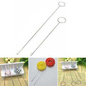 Metal Sewing Loop Turner Hook Needle Threader Needlework Tool Sewing Accerssary