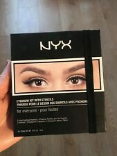NYX Eyebrow Kit with Stencils - Used Once