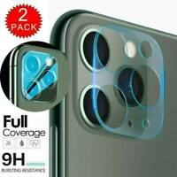 For iPhone 11 Pro Max FULL COVER Tempered Glass Camera Lens Screen Protector*2pc