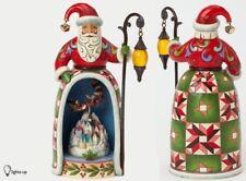 Jim Shore SANTA Christmas Magic Is All Around Diorama Lighted Scene 4037597 NEW