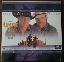 LASERDISC Movie: THE COWBOY WAY - Woody Harrelson, Kiefer Sutherland
