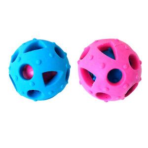 Pet Bite-resistant Chew Ball Dog Training Puzzle Fun Toy Food Dispenser