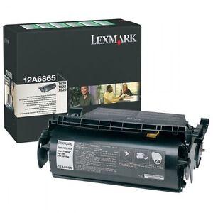 Original Toner Lexmark Optra T620 T622 X620 / 12A6865 - OVP Cartridge