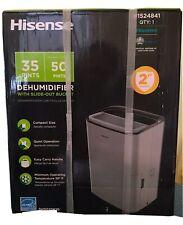 Hisense 35 Pt Dehumidifier