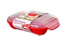Sistema Microonde 4 Egg Poacher Contenitore Uova Boiler Fornello Vapore Bpa Free