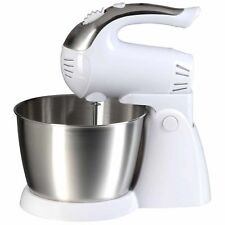 Brentwood Appliances SM-1152 5-Speed + Turbo Electric Stand Mixer with Bowl (Whi