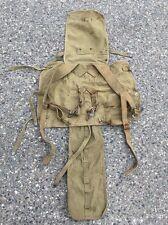 Original WW2 Military US Army Backpack Satchel