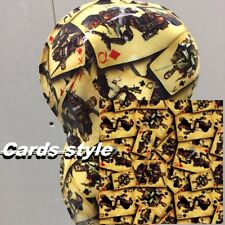 0.5*10M Water Transfer Printing Film Hydrographic film,Cards style Hydrographic