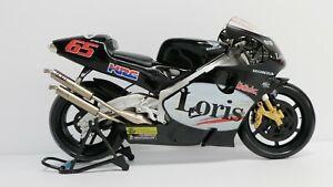 GUILOY 1/6  LORIS CAPIROSSI HONDA NSR 500 MOTO GP 2001 TEAM WEST HONDA PONS