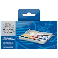 Cotman Watercolor Sketcher Set 12 Half Pans