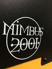 Harry Potter Nimbus 2001 White Vinyl Broom Sticker Magic
