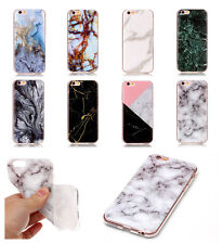 UK Ultra Thin Marble Texture Soft TPU IMD Case Cover For Various Mobile Phone
